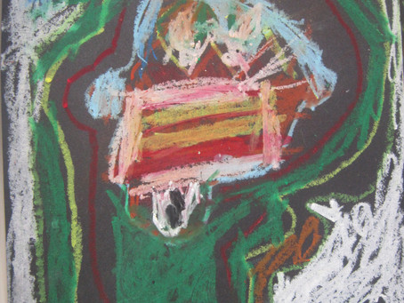 BASQUIAT Jean Michel inspired art