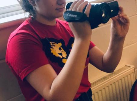 Tiger Monkey alumni filming Enfield Summer University 2020
