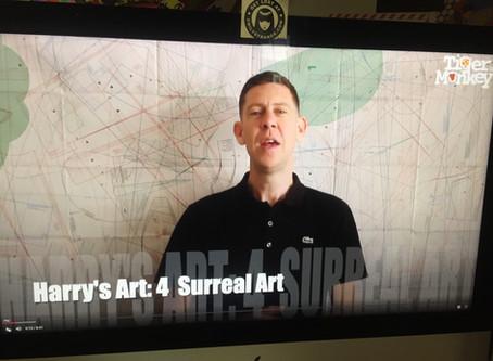 Don't miss Tiger Monkey ROAR: Harry's Art 3-6 NOW.