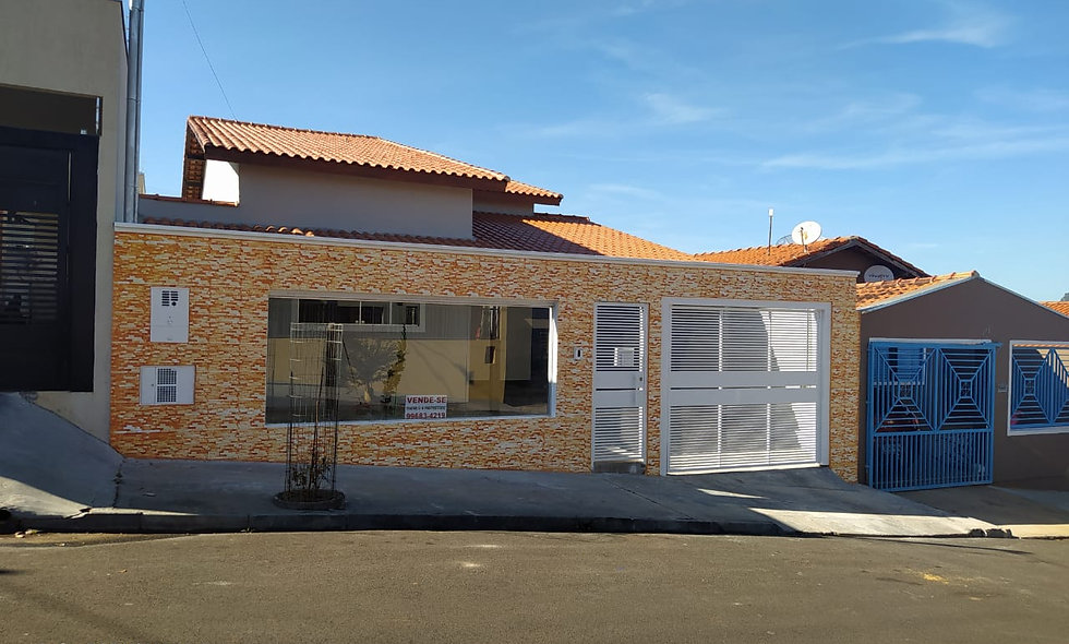REF 225 Casa, 131m², 3 dormitórios, Jardim Doreto, Piraju /SP.