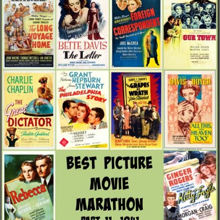 Best Picture Movie Marathon, Part 11