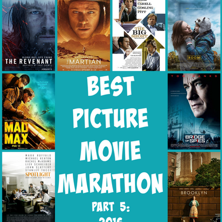 Best Picture Movie Marathon, Part 5