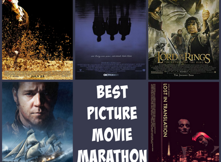 Best Picture Movie Marathon, Part 4