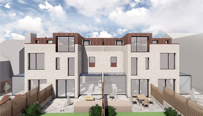 terrace redevelopment architecture