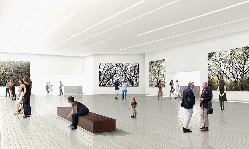 nordic style gallery design