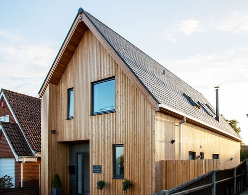 larch house new build essex