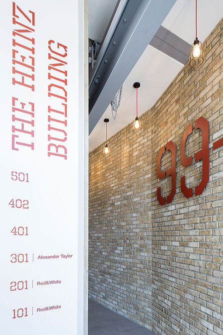 industrial themed interior desgn office to residential refurbishment