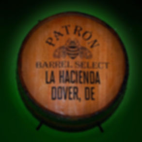 La Hacienda Barrel Select Patron