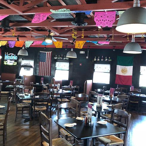 La Haceinda Dover dining room
