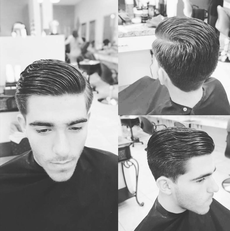 man haircut. style. barbershop