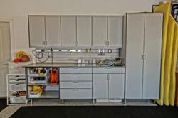 Main garage cabinet modules