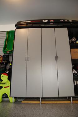 Tall locker cabinets