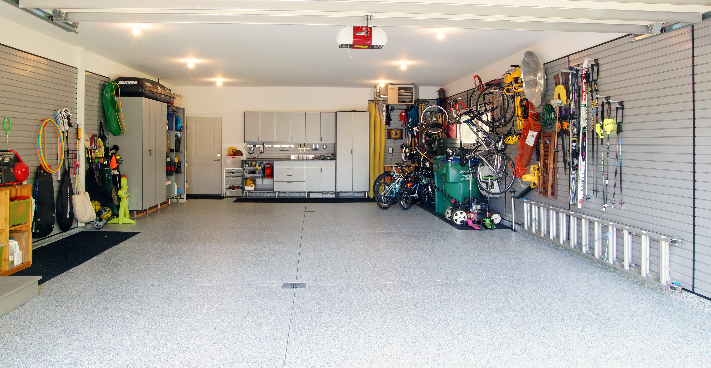 Slotwall, lockers, cabinet setup