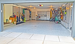 HDR complete garage view