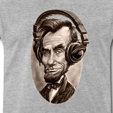 caricature-of-abe-lincoln-wearing-music-