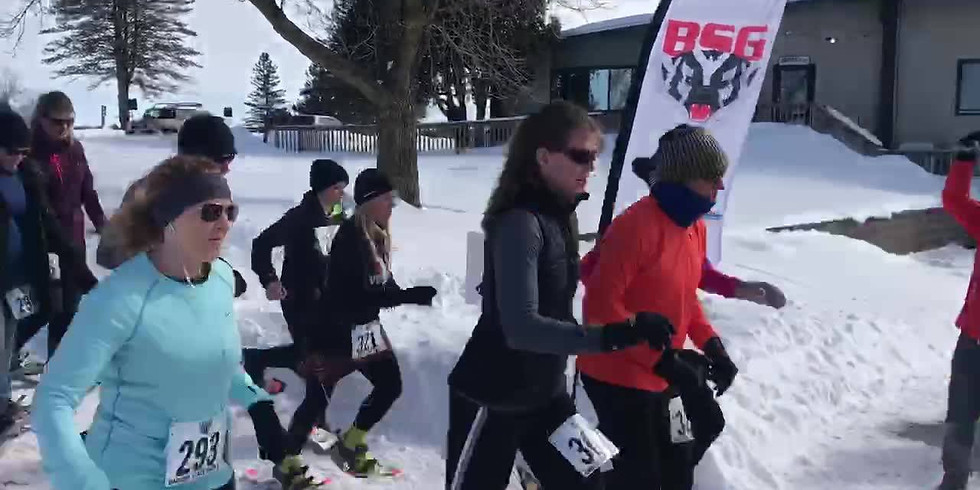 Badger State Games Snowshoe