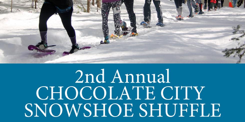 2nd Annual Chocolate City Snowshoe Shuffle 5K & 10K  Run and Walk