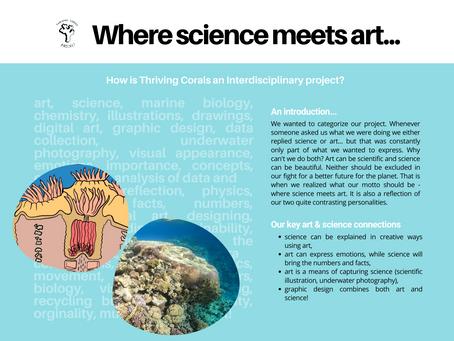 Why we believe in science + art