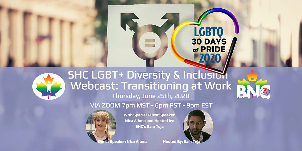 LGBT+ Diveristy and Inclusion Webcast Registration