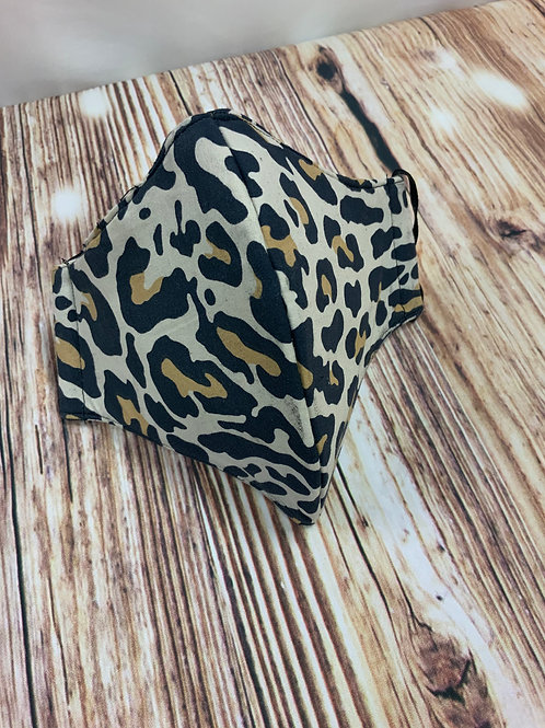 Cheetah Print Mask