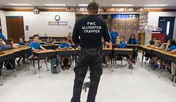 Ray the Trapper school event