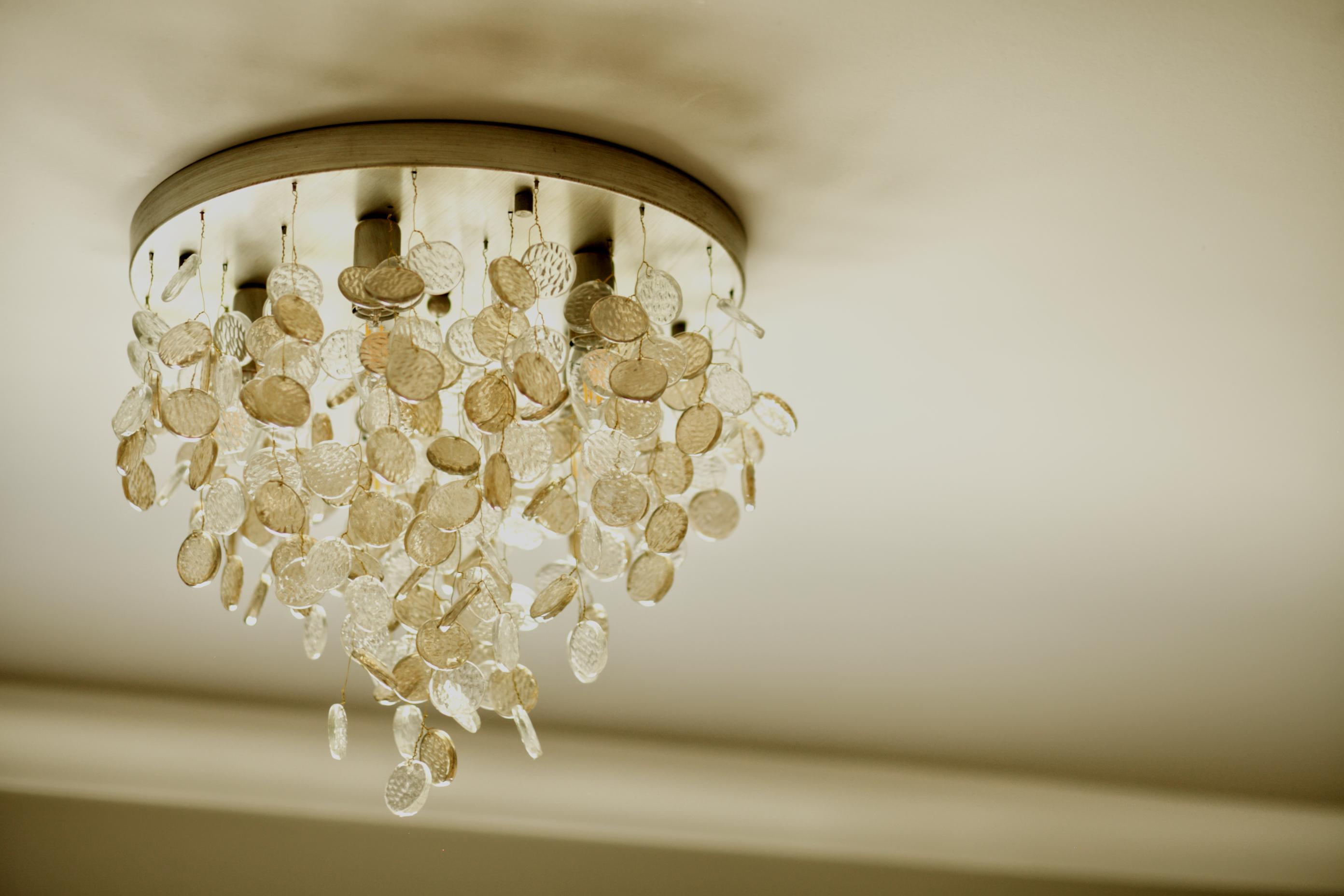 Ceiling light in full