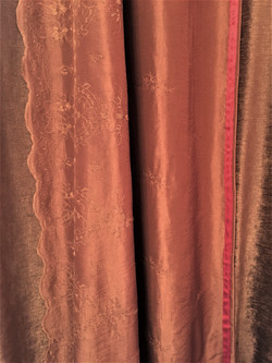Curtains made to match bedspread