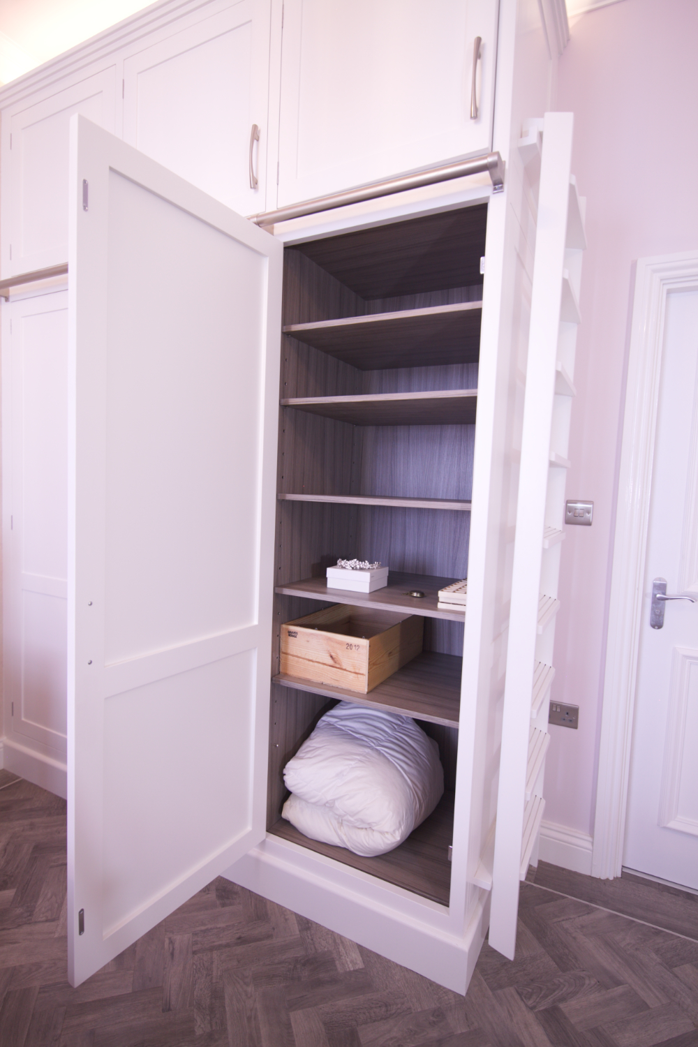 Bespoke hand painted wardrobes