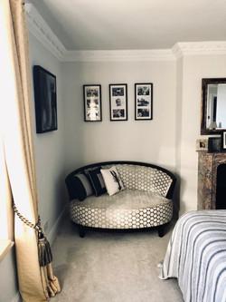 A luxury reading zone