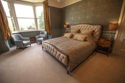 Master bedroom in all its splendour.