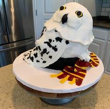 Harry Potter Owl Cake