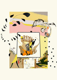 Collage numérique Sandrine Stahl Panneau oiseau.jpg