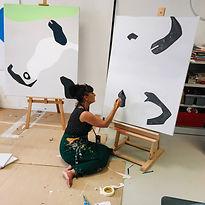 Sandrine Stahl - Atelier