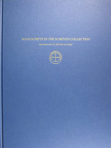 Buddhist Manuscripts in the Schøyen Collection (vol. ii)