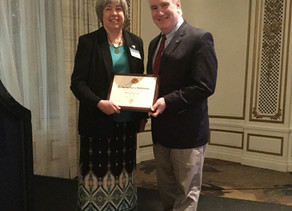 Dr. Martha Wright Receives American Board of Ophthalmology's Goldfeller Volunteer Service Award