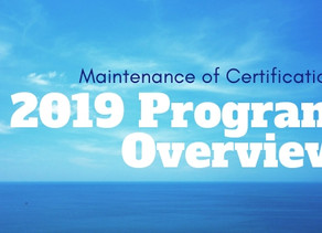 Get to Know the 2019 American Board of Ophthalmology Maintenance of Certification Program