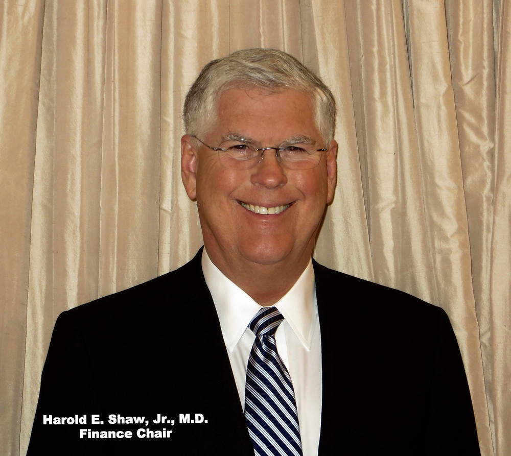 Harold E. Shaw, Jr., M.D., Finance Chair