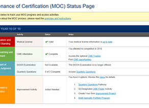 ABO Status Page Adjustments Make MOC Activity Progress and Next Steps Clearer