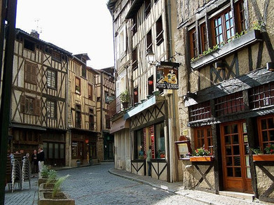 The old town Limoges
