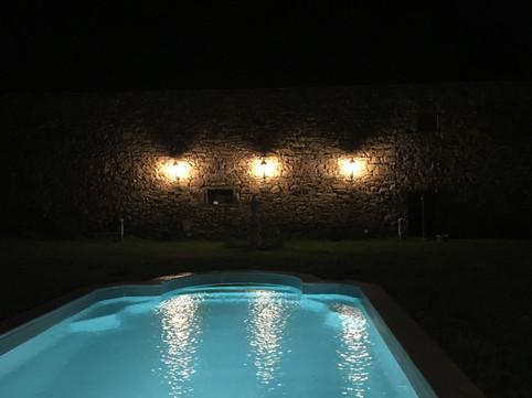 Swimming by night