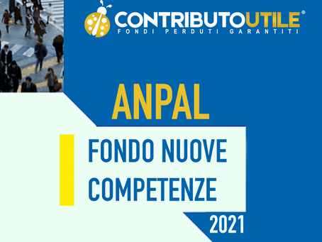 ANPAL: FONDO NUOVE COMPETENZE