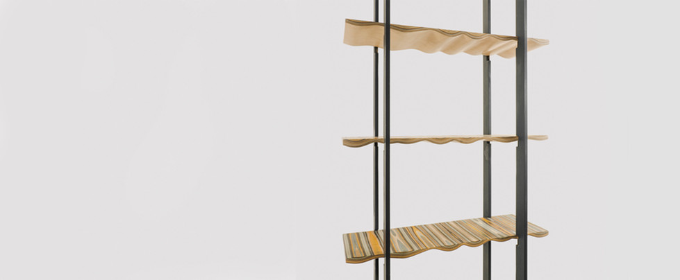 Wood Couture: Bookcase