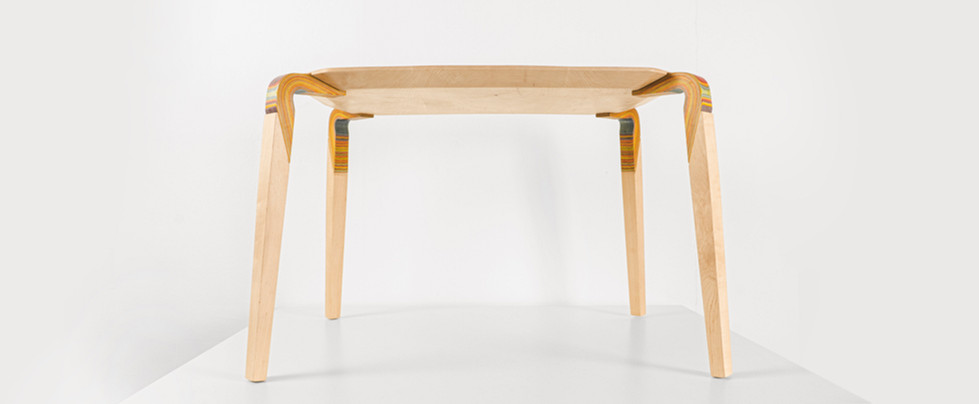 Wood Couture: Knee Table