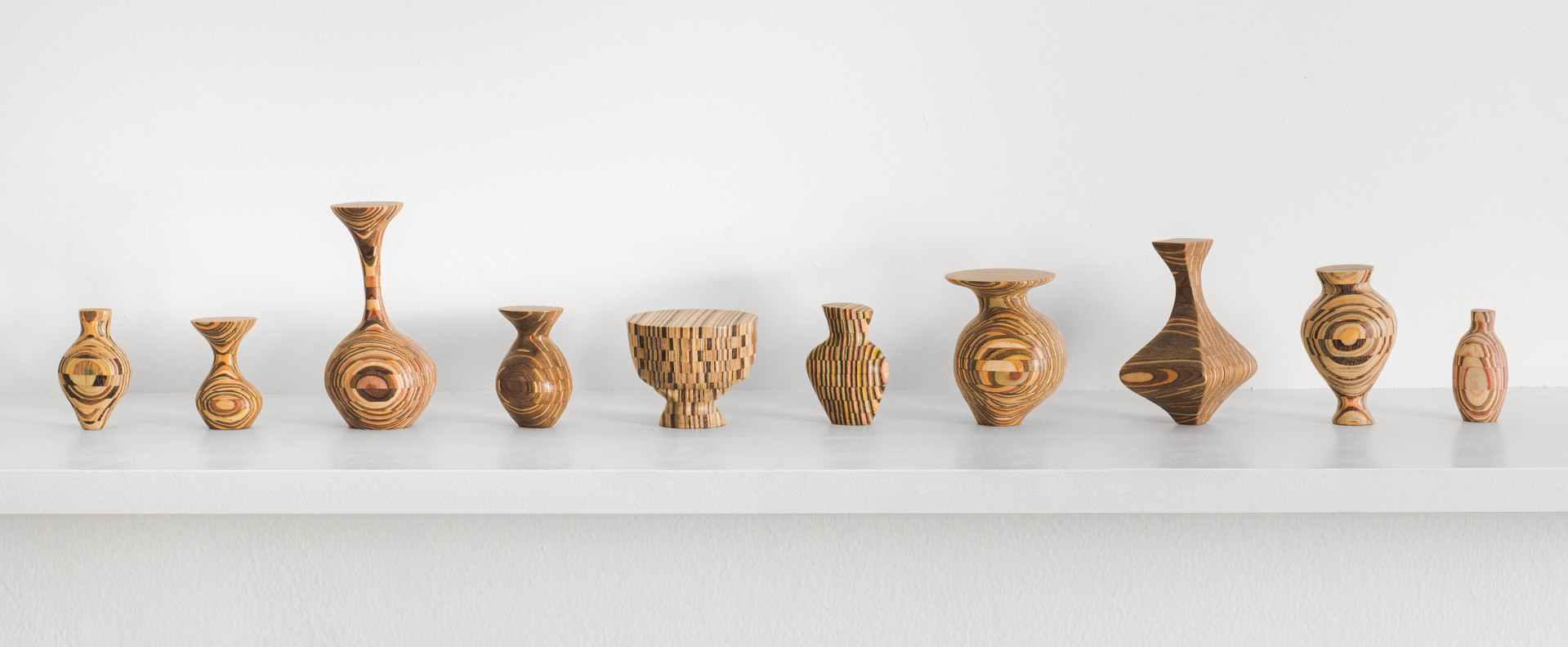 Wood Couture: Tripled Vases