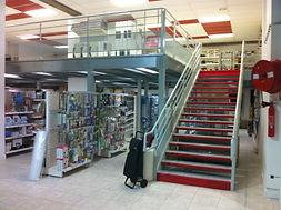 Mezzanine - Escalier ERP
