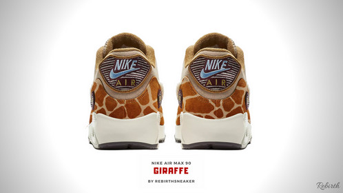 quality design 80689 1e5df ... The successor of the release Nike air max 1 Giraffe by Rebirth made  this sneaker more ...