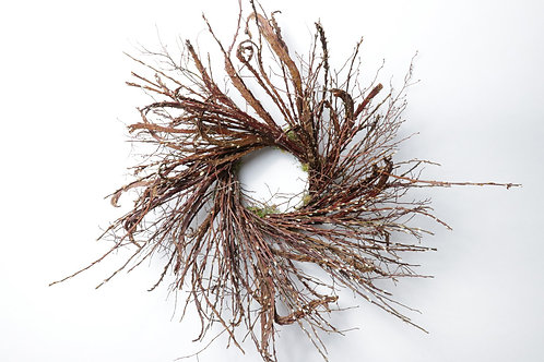 """Fantail Willow Stems on a 26"""" Blueberry Base"""