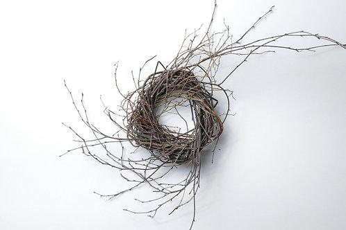 """6"""" Birch/Huckleberry Wreath"""