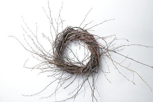 """12"""" Birch/Huckleberry Wreath"""