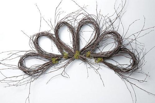 Birch Flower Loop Swag